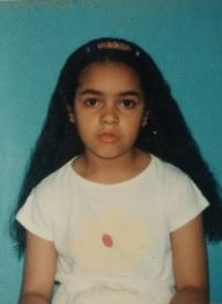 Vanessa com 6 anos